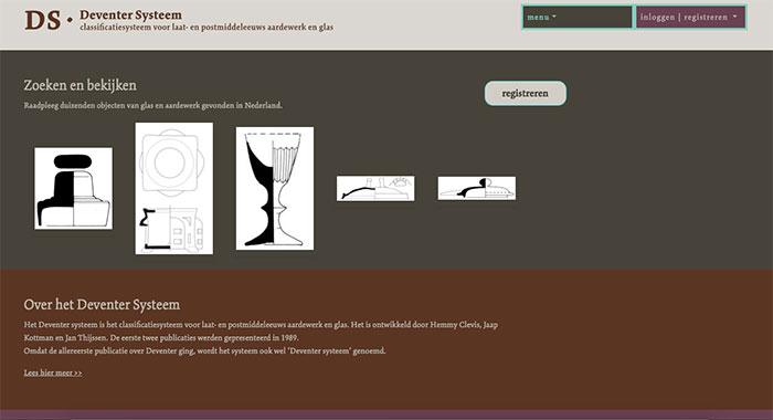 Database voor archeologische vondsten