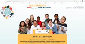 Activiteiten zoeken - homepage